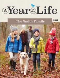 year in the life family yearbook