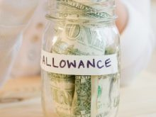 Child's Allowance Jar