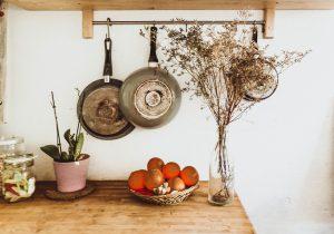 clean uncluttered kitchen